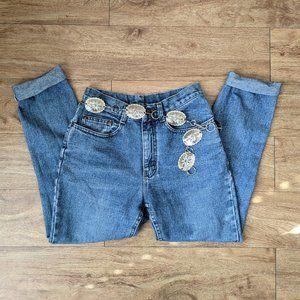 Vintage 1980's Lee High Waisted Mom Jeans